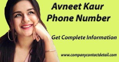 Avneet Kaur Phone Number