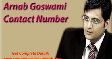 Arnab Goswami Contact Number