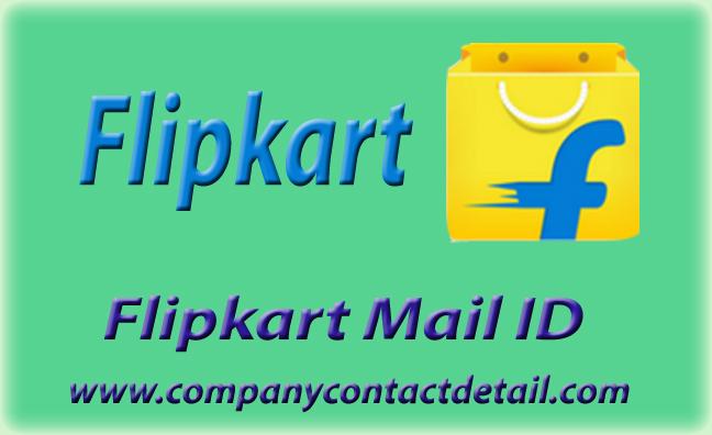 Flipkart Mail ID