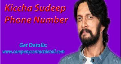 Kiccha Sudeep Phone Number