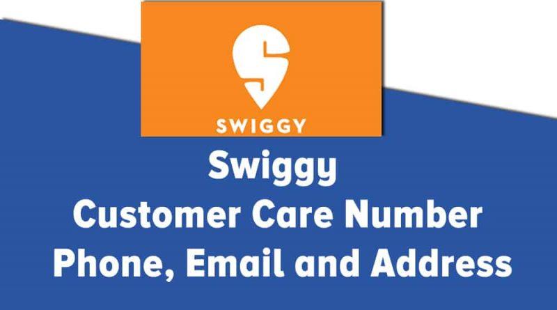 Swiggy Email ID
