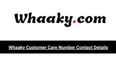 Whaaky.com Customer Care Number